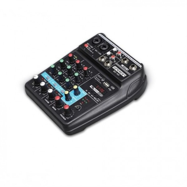 Spekon Ec-4U Karaoke Mikser