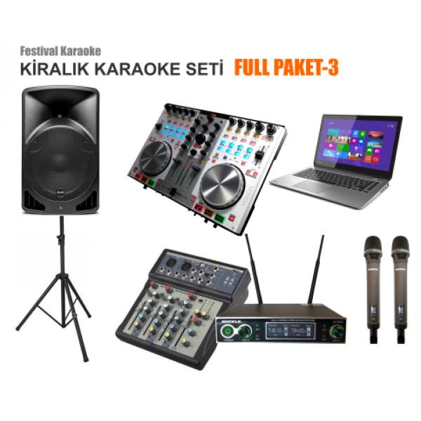 karaoke kiralama, karaoke seti kiralama, karaoke sistemi, ev karaoke seti